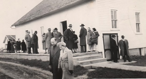 Paullina Meeting House 1940's-2