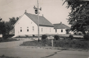 Paullina Meeting House early 1950's